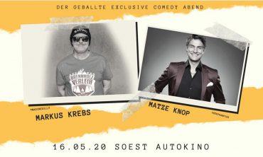 Autokino Soest: Autokino in Soest –Markus Krebs und Matze Knop