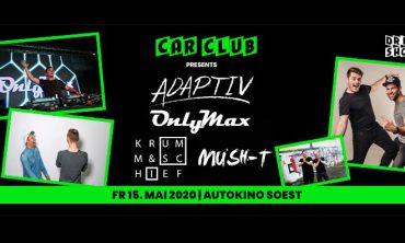 Autokino Soest: Drive In Show CAR CLUB Disco im Autokino